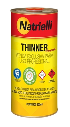 Imagem de THINNER NATRIELLI 800 EXTRA   900ml NATRIELLI