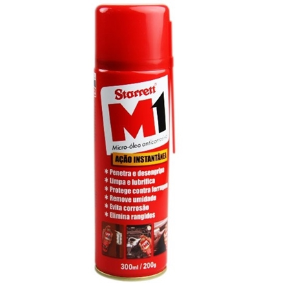 Imagem de OLEO LUBRIF.STARRET M1  300ml SPRAY STARRET