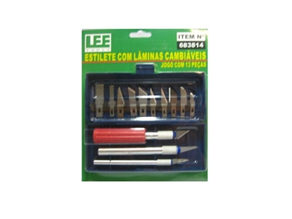 Imagem de ESTILETE LEE TOOLS PRECISAO C/13p LEE TOOLS