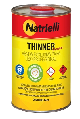 Imagem de THINNER NATRIELLI 8100 EXTRA450ml NATRIELLI