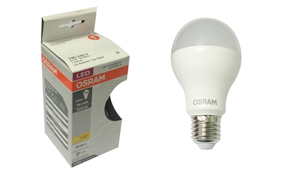 Imagem de LAMP.LED BULBO  8W OSRAM 3000K AM BIV OSRAM