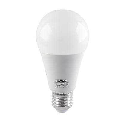 Imagem de LAMP.LED BULBO 15W ECOLUME 3000K AM BIV